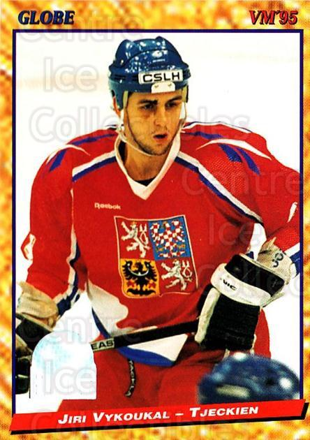 1995 Swedish Globe World Championships #152 Jiri Vykoukal<br/>7 In Stock - $2.00 each - <a href=https://centericecollectibles.foxycart.com/cart?name=1995%20Swedish%20Globe%20World%20Championships%20%23152%20Jiri%20Vykoukal...&quantity_max=7&price=$2.00&code=37037 class=foxycart> Buy it now! </a>