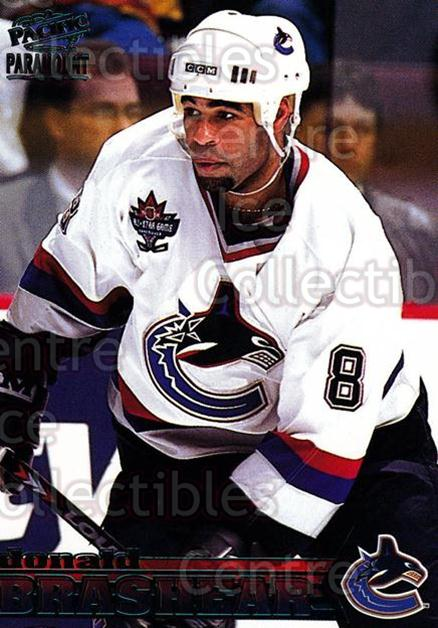1998-99 Paramount Emerald #233 Donald Brashear<br/>4 In Stock - $2.00 each - <a href=https://centericecollectibles.foxycart.com/cart?name=1998-99%20Paramount%20Emerald%20%23233%20Donald%20Brashear...&quantity_max=4&price=$2.00&code=370451 class=foxycart> Buy it now! </a>