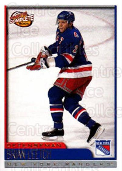 2003-04 Pacific Complete #112 Brian Leetch<br/>7 In Stock - $2.00 each - <a href=https://centericecollectibles.foxycart.com/cart?name=2003-04%20Pacific%20Complete%20%23112%20Brian%20Leetch...&quantity_max=7&price=$2.00&code=371124 class=foxycart> Buy it now! </a>