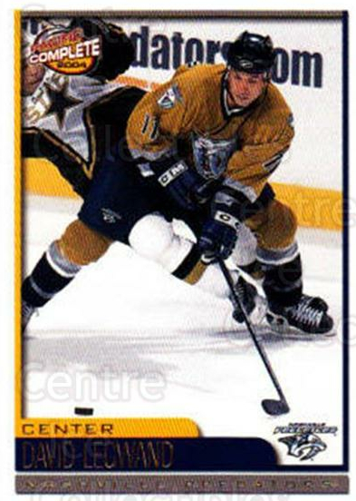 2003-04 Pacific Complete #113 David Legwand<br/>5 In Stock - $2.00 each - <a href=https://centericecollectibles.foxycart.com/cart?name=2003-04%20Pacific%20Complete%20%23113%20David%20Legwand...&quantity_max=5&price=$2.00&code=371125 class=foxycart> Buy it now! </a>