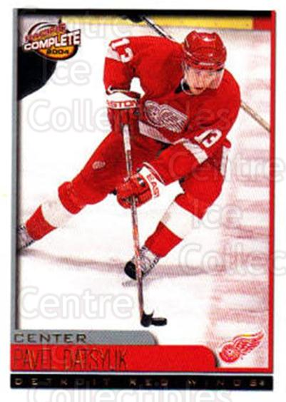 2003-04 Pacific Complete #116 Pavel Datsyuk<br/>4 In Stock - $2.00 each - <a href=https://centericecollectibles.foxycart.com/cart?name=2003-04%20Pacific%20Complete%20%23116%20Pavel%20Datsyuk...&quantity_max=4&price=$2.00&code=371128 class=foxycart> Buy it now! </a>