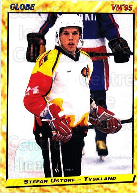 1995 Swedish Globe World Championships #224 Stefan Ustorf<br/>12 In Stock - $2.00 each - <a href=https://centericecollectibles.foxycart.com/cart?name=1995%20Swedish%20Globe%20World%20Championships%20%23224%20Stefan%20Ustorf...&quantity_max=12&price=$2.00&code=37112 class=foxycart> Buy it now! </a>