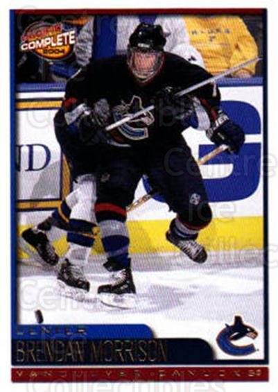 2003-04 Pacific Complete #146 Brendan Morrison<br/>6 In Stock - $2.00 each - <a href=https://centericecollectibles.foxycart.com/cart?name=2003-04%20Pacific%20Complete%20%23146%20Brendan%20Morriso...&quantity_max=6&price=$2.00&code=371158 class=foxycart> Buy it now! </a>