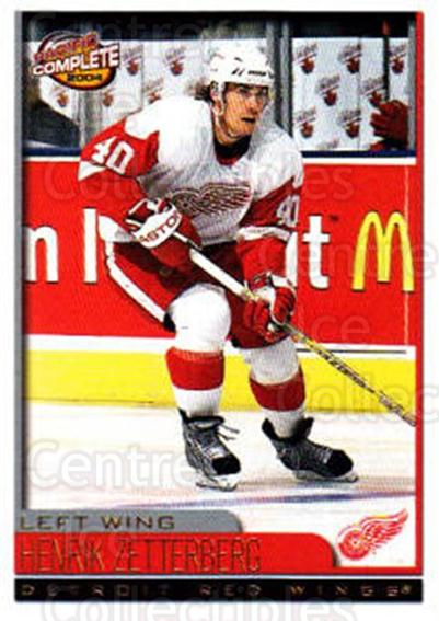 2003-04 Pacific Complete #149 Henrik Zetterberg<br/>2 In Stock - $2.00 each - <a href=https://centericecollectibles.foxycart.com/cart?name=2003-04%20Pacific%20Complete%20%23149%20Henrik%20Zetterbe...&quantity_max=2&price=$2.00&code=371161 class=foxycart> Buy it now! </a>