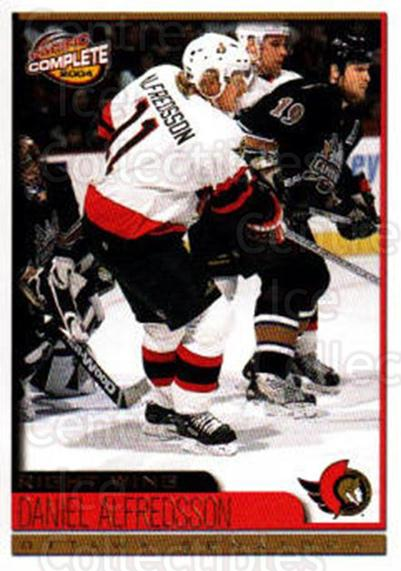 2003-04 Pacific Complete #229 Daniel Alfredsson<br/>1 In Stock - $2.00 each - <a href=https://centericecollectibles.foxycart.com/cart?name=2003-04%20Pacific%20Complete%20%23229%20Daniel%20Alfredss...&quantity_max=1&price=$2.00&code=371241 class=foxycart> Buy it now! </a>