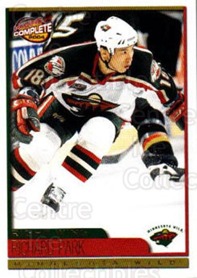 2003-04 Pacific Complete #272 Richard Park<br/>2 In Stock - $2.00 each - <a href=https://centericecollectibles.foxycart.com/cart?name=2003-04%20Pacific%20Complete%20%23272%20Richard%20Park...&quantity_max=2&price=$2.00&code=371284 class=foxycart> Buy it now! </a>