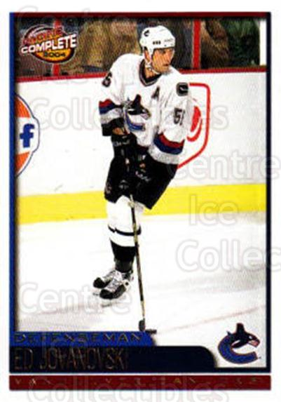 2003-04 Pacific Complete #298 Ed Jovanovski<br/>1 In Stock - $2.00 each - <a href=https://centericecollectibles.foxycart.com/cart?name=2003-04%20Pacific%20Complete%20%23298%20Ed%20Jovanovski...&quantity_max=1&price=$2.00&code=371310 class=foxycart> Buy it now! </a>