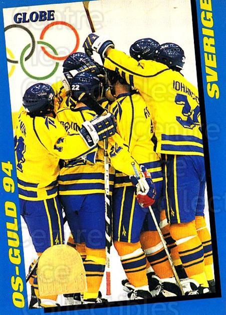 1995 Swedish Globe World Championships #246 Team Sweden<br/>8 In Stock - $2.00 each - <a href=https://centericecollectibles.foxycart.com/cart?name=1995%20Swedish%20Globe%20World%20Championships%20%23246%20Team%20Sweden...&price=$2.00&code=37134 class=foxycart> Buy it now! </a>