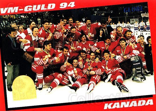 1995 Swedish Globe World Championships #247 Team Canada, Team Photo<br/>11 In Stock - $2.00 each - <a href=https://centericecollectibles.foxycart.com/cart?name=1995%20Swedish%20Globe%20World%20Championships%20%23247%20Team%20Canada,%20Te...&price=$2.00&code=37135 class=foxycart> Buy it now! </a>