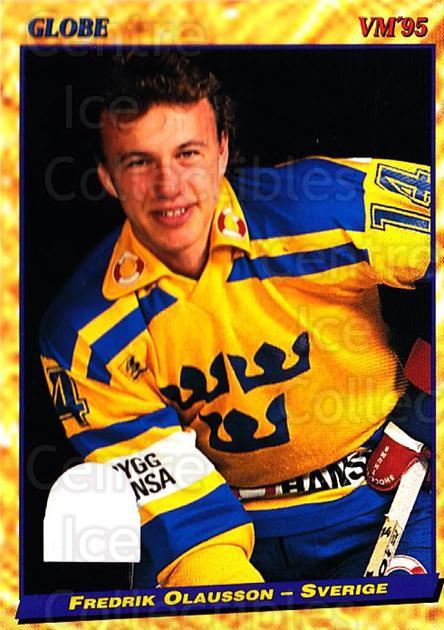 1995 Swedish Globe World Championships #26 Fredrik Olausson<br/>12 In Stock - $2.00 each - <a href=https://centericecollectibles.foxycart.com/cart?name=1995%20Swedish%20Globe%20World%20Championships%20%2326%20Fredrik%20Olausso...&price=$2.00&code=37140 class=foxycart> Buy it now! </a>
