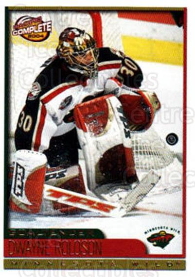 2003-04 Pacific Complete #404 Dwayne Roloson<br/>1 In Stock - $2.00 each - <a href=https://centericecollectibles.foxycart.com/cart?name=2003-04%20Pacific%20Complete%20%23404%20Dwayne%20Roloson...&quantity_max=1&price=$2.00&code=371416 class=foxycart> Buy it now! </a>