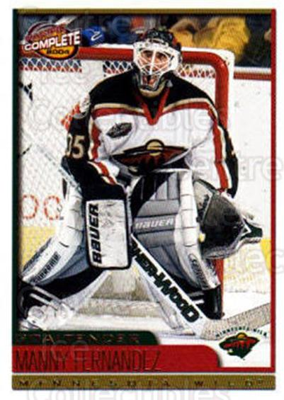 2003-04 Pacific Complete #409 Manny Fernandez<br/>2 In Stock - $2.00 each - <a href=https://centericecollectibles.foxycart.com/cart?name=2003-04%20Pacific%20Complete%20%23409%20Manny%20Fernandez...&quantity_max=2&price=$2.00&code=371421 class=foxycart> Buy it now! </a>