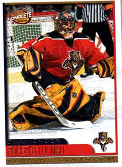 2003-04 Pacific Complete #417 Roberto Luongo<br/>1 In Stock - $2.00 each - <a href=https://centericecollectibles.foxycart.com/cart?name=2003-04%20Pacific%20Complete%20%23417%20Roberto%20Luongo...&quantity_max=1&price=$2.00&code=371429 class=foxycart> Buy it now! </a>
