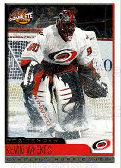 2003-04 Pacific Complete #443 Kevin Weekes<br/>1 In Stock - $2.00 each - <a href=https://centericecollectibles.foxycart.com/cart?name=2003-04%20Pacific%20Complete%20%23443%20Kevin%20Weekes...&quantity_max=1&price=$2.00&code=371455 class=foxycart> Buy it now! </a>