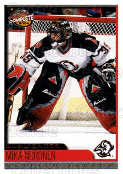 2003-04 Pacific Complete #454 Mika Noronen<br/>1 In Stock - $2.00 each - <a href=https://centericecollectibles.foxycart.com/cart?name=2003-04%20Pacific%20Complete%20%23454%20Mika%20Noronen...&quantity_max=1&price=$2.00&code=371466 class=foxycart> Buy it now! </a>