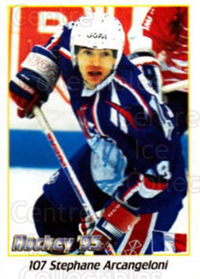 1995 Swedish World Championships Stickers #107 Stephane Arcangeloni<br/>3 In Stock - $2.00 each - <a href=https://centericecollectibles.foxycart.com/cart?name=1995%20Swedish%20World%20Championships%20Stickers%20%23107%20Stephane%20Arcang...&quantity_max=3&price=$2.00&code=37148 class=foxycart> Buy it now! </a>