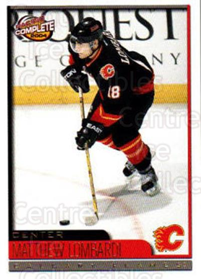 2003-04 Pacific Complete #513 Matthew Lombardi<br/>6 In Stock - $2.00 each - <a href=https://centericecollectibles.foxycart.com/cart?name=2003-04%20Pacific%20Complete%20%23513%20Matthew%20Lombard...&quantity_max=6&price=$2.00&code=371525 class=foxycart> Buy it now! </a>