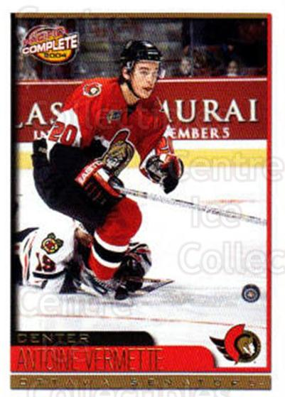 2003-04 Pacific Complete #527 Antoine Vermette<br/>5 In Stock - $2.00 each - <a href=https://centericecollectibles.foxycart.com/cart?name=2003-04%20Pacific%20Complete%20%23527%20Antoine%20Vermett...&quantity_max=5&price=$2.00&code=371539 class=foxycart> Buy it now! </a>