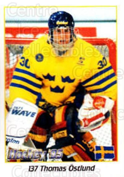 1995 Swedish World Championships Stickers #137 Thomas Ostlund<br/>3 In Stock - $2.00 each - <a href=https://centericecollectibles.foxycart.com/cart?name=1995%20Swedish%20World%20Championships%20Stickers%20%23137%20Thomas%20Ostlund...&price=$2.00&code=37179 class=foxycart> Buy it now! </a>