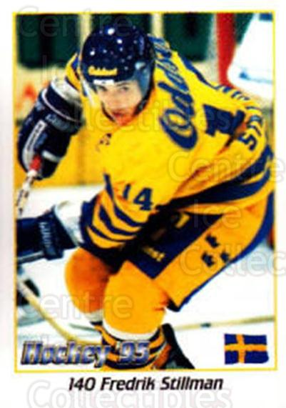 1995 Swedish World Championships Stickers #140 Fredrik Stillman<br/>2 In Stock - $2.00 each - <a href=https://centericecollectibles.foxycart.com/cart?name=1995%20Swedish%20World%20Championships%20Stickers%20%23140%20Fredrik%20Stillma...&price=$2.00&code=37183 class=foxycart> Buy it now! </a>