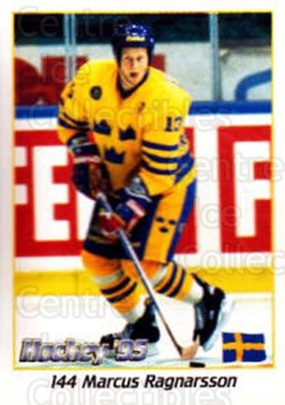 1995 Swedish World Championships Stickers #144 Marcus Ragnarsson<br/>4 In Stock - $2.00 each - <a href=https://centericecollectibles.foxycart.com/cart?name=1995%20Swedish%20World%20Championships%20Stickers%20%23144%20Marcus%20Ragnarss...&price=$2.00&code=37187 class=foxycart> Buy it now! </a>