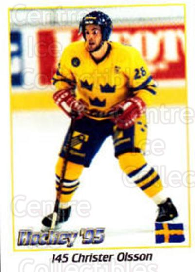 1995 Swedish World Championships Stickers #145 Christer Olsson<br/>1 In Stock - $2.00 each - <a href=https://centericecollectibles.foxycart.com/cart?name=1995%20Swedish%20World%20Championships%20Stickers%20%23145%20Christer%20Olsson...&price=$2.00&code=37188 class=foxycart> Buy it now! </a>