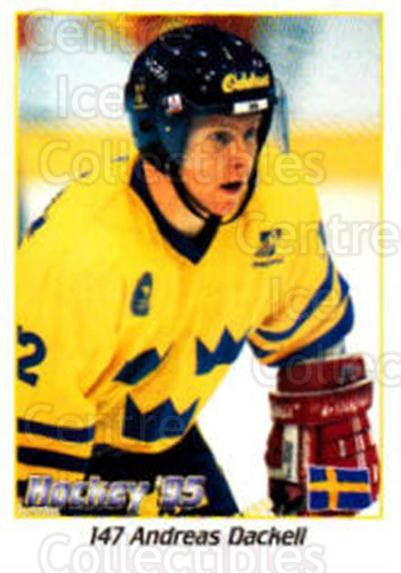 1995 Swedish World Championships Stickers #147 Andreas Dackell<br/>2 In Stock - $2.00 each - <a href=https://centericecollectibles.foxycart.com/cart?name=1995%20Swedish%20World%20Championships%20Stickers%20%23147%20Andreas%20Dackell...&price=$2.00&code=37190 class=foxycart> Buy it now! </a>