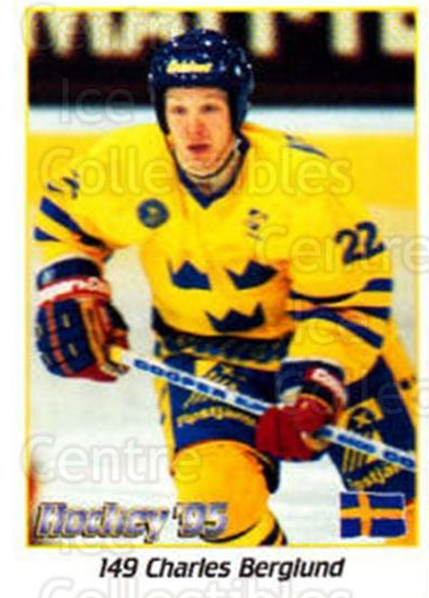 1995 Swedish World Championships Stickers #149 Charles Berglund<br/>2 In Stock - $2.00 each - <a href=https://centericecollectibles.foxycart.com/cart?name=1995%20Swedish%20World%20Championships%20Stickers%20%23149%20Charles%20Berglun...&price=$2.00&code=37192 class=foxycart> Buy it now! </a>