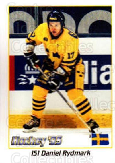 1995 Swedish World Championships Stickers #151 Daniel Rydmark<br/>3 In Stock - $2.00 each - <a href=https://centericecollectibles.foxycart.com/cart?name=1995%20Swedish%20World%20Championships%20Stickers%20%23151%20Daniel%20Rydmark...&price=$2.00&code=37194 class=foxycart> Buy it now! </a>