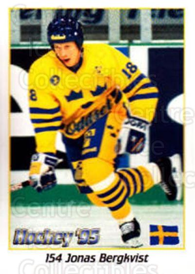 1995 Swedish World Championships Stickers #154 Jonas Bergqvist<br/>1 In Stock - $2.00 each - <a href=https://centericecollectibles.foxycart.com/cart?name=1995%20Swedish%20World%20Championships%20Stickers%20%23154%20Jonas%20Bergqvist...&price=$2.00&code=37197 class=foxycart> Buy it now! </a>