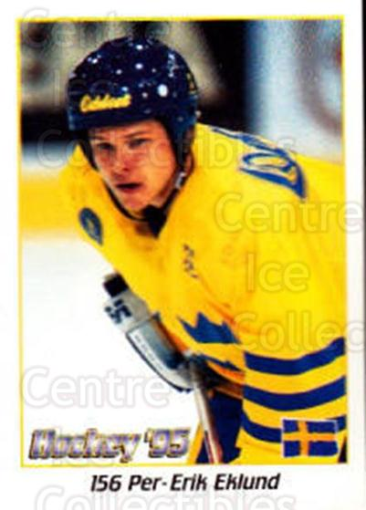 1995 Swedish World Championships Stickers #156 Per-Erik Eklund<br/>5 In Stock - $2.00 each - <a href=https://centericecollectibles.foxycart.com/cart?name=1995%20Swedish%20World%20Championships%20Stickers%20%23156%20Per-Erik%20Eklund...&price=$2.00&code=37199 class=foxycart> Buy it now! </a>