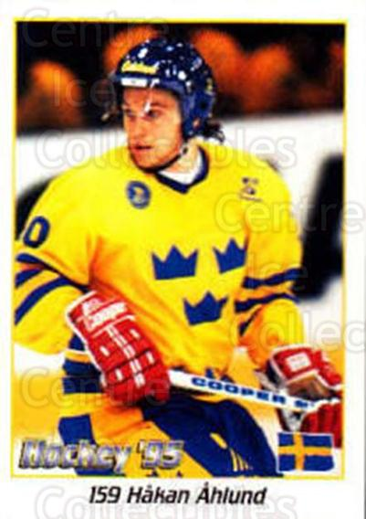 1995 Swedish World Championships Stickers #159 Hakan Ahlund<br/>2 In Stock - $2.00 each - <a href=https://centericecollectibles.foxycart.com/cart?name=1995%20Swedish%20World%20Championships%20Stickers%20%23159%20Hakan%20Ahlund...&price=$2.00&code=37202 class=foxycart> Buy it now! </a>