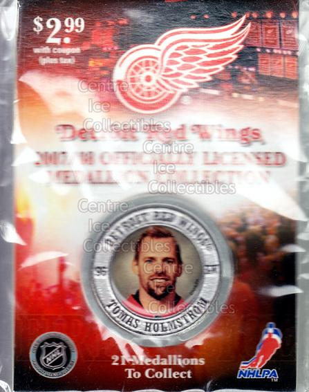 <a href=index.aspx?SetName=2007-08%20Detroit%20Red%20Wings%20Medallion>2007-08 Detroit Red Wings Medallion</a> #9 <a href=index.aspx?PlayerName=Tomas%20Holmstrom> Tomas Holmstrom</a><br/>1 in stock - $5.00 each - <a href=https://centericecollectibles.foxycart.com/cart?name=2007-08%20Detroit%20Red%20Wings%20Medallion%20%239%20Tomas%20Holmstrom...&price=$5.00&code=372239 class=foxycart> Buy it now! </a>