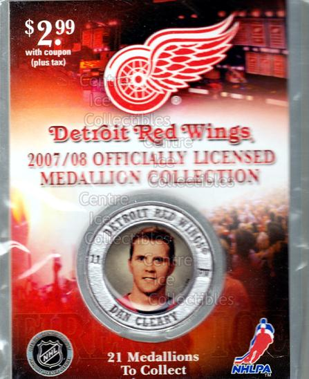 2007-08 Detroit Red Wings Medallion #2 Daniel Cleary<br/>1 In Stock - $5.00 each - <a href=https://centericecollectibles.foxycart.com/cart?name=2007-08%20Detroit%20Red%20Wings%20Medallion%20%232%20Daniel%20Cleary...&quantity_max=1&price=$5.00&code=372245 class=foxycart> Buy it now! </a>
