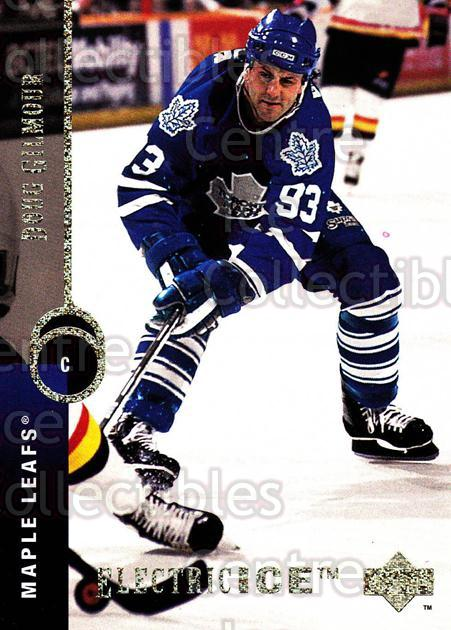1994-95 Upper Deck Electric Ice #138 Doug Gilmour<br/>1 In Stock - $2.00 each - <a href=https://centericecollectibles.foxycart.com/cart?name=1994-95%20Upper%20Deck%20Electric%20Ice%20%23138%20Doug%20Gilmour...&quantity_max=1&price=$2.00&code=372328 class=foxycart> Buy it now! </a>