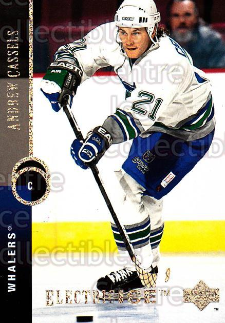 1994-95 Upper Deck Electric Ice #317 Andrew Cassels<br/>4 In Stock - $2.00 each - <a href=https://centericecollectibles.foxycart.com/cart?name=1994-95%20Upper%20Deck%20Electric%20Ice%20%23317%20Andrew%20Cassels...&quantity_max=4&price=$2.00&code=372524 class=foxycart> Buy it now! </a>