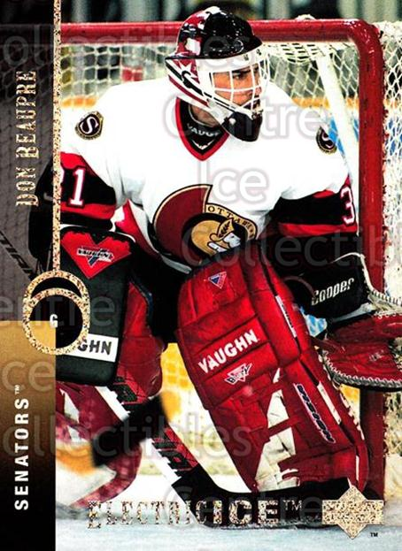 1994-95 Upper Deck Electric Ice #389 Don Beaupre<br/>2 In Stock - $2.00 each - <a href=https://centericecollectibles.foxycart.com/cart?name=1994-95%20Upper%20Deck%20Electric%20Ice%20%23389%20Don%20Beaupre...&quantity_max=2&price=$2.00&code=372599 class=foxycart> Buy it now! </a>