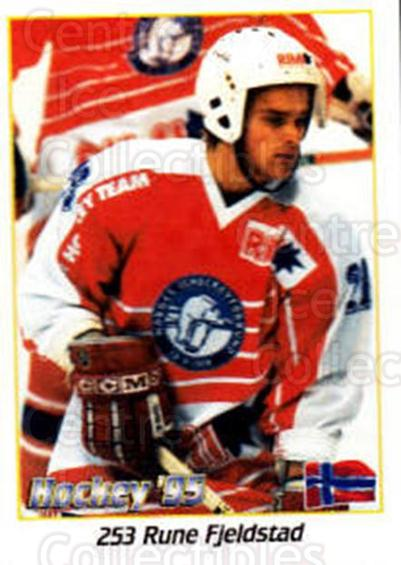 1995 Swedish World Championships Stickers #253 Rune Fjeldstad<br/>1 In Stock - $2.00 each - <a href=https://centericecollectibles.foxycart.com/cart?name=1995%20Swedish%20World%20Championships%20Stickers%20%23253%20Rune%20Fjeldstad...&quantity_max=1&price=$2.00&code=37268 class=foxycart> Buy it now! </a>