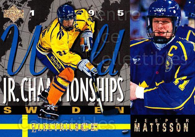 1994-95 Upper Deck Electric Ice #519 Jesper Mattsson<br/>5 In Stock - $2.00 each - <a href=https://centericecollectibles.foxycart.com/cart?name=1994-95%20Upper%20Deck%20Electric%20Ice%20%23519%20Jesper%20Mattsson...&price=$2.00&code=372739 class=foxycart> Buy it now! </a>