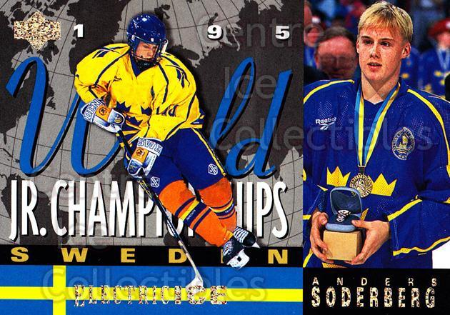 1994-95 Upper Deck Electric Ice #521 Anders Soderberg<br/>4 In Stock - $2.00 each - <a href=https://centericecollectibles.foxycart.com/cart?name=1994-95%20Upper%20Deck%20Electric%20Ice%20%23521%20Anders%20Soderber...&price=$2.00&code=372742 class=foxycart> Buy it now! </a>