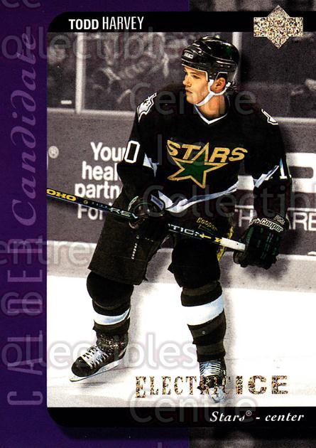 1994-95 Upper Deck Electric Ice #536 Todd Harvey<br/>5 In Stock - $2.00 each - <a href=https://centericecollectibles.foxycart.com/cart?name=1994-95%20Upper%20Deck%20Electric%20Ice%20%23536%20Todd%20Harvey...&quantity_max=5&price=$2.00&code=372758 class=foxycart> Buy it now! </a>