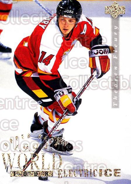 1994-95 Upper Deck Electric Ice #566 Theo Fleury<br/>1 In Stock - $3.00 each - <a href=https://centericecollectibles.foxycart.com/cart?name=1994-95%20Upper%20Deck%20Electric%20Ice%20%23566%20Theo%20Fleury...&quantity_max=1&price=$3.00&code=372791 class=foxycart> Buy it now! </a>