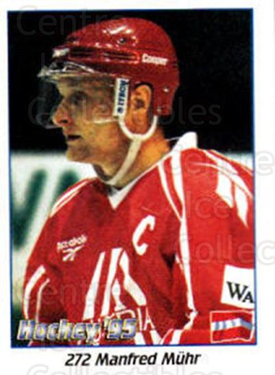1995 Swedish World Championships Stickers #272 Manfred Muhr<br/>2 In Stock - $2.00 each - <a href=https://centericecollectibles.foxycart.com/cart?name=1995%20Swedish%20World%20Championships%20Stickers%20%23272%20Manfred%20Muhr...&quantity_max=2&price=$2.00&code=37282 class=foxycart> Buy it now! </a>