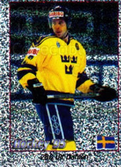 1995 Swedish World Championships Stickers #286 Ulf Dahlen<br/>3 In Stock - $2.00 each - <a href=https://centericecollectibles.foxycart.com/cart?name=1995%20Swedish%20World%20Championships%20Stickers%20%23286%20Ulf%20Dahlen...&price=$2.00&code=37289 class=foxycart> Buy it now! </a>