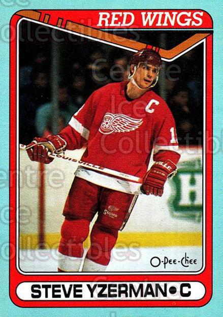 1990-91 O-Pee-Chee Box Bottoms #J Steve Yzerman<br/>2 In Stock - $5.00 each - <a href=https://centericecollectibles.foxycart.com/cart?name=1990-91%20O-Pee-Chee%20Box%20Bottoms%20%23J%20Steve%20Yzerman...&price=$5.00&code=372945 class=foxycart> Buy it now! </a>