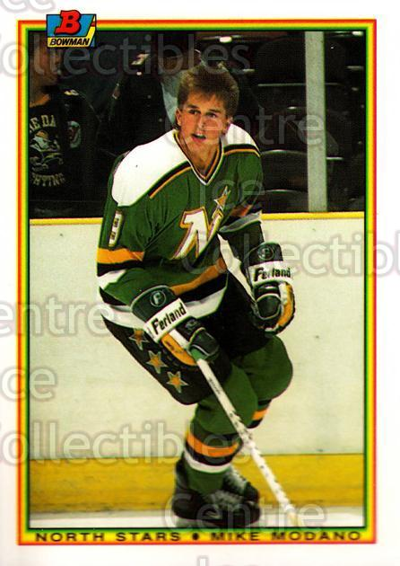 1990-91 Bowman Tiffany #188 Mike Modano<br/>1 In Stock - $10.00 each - <a href=https://centericecollectibles.foxycart.com/cart?name=1990-91%20Bowman%20Tiffany%20%23188%20Mike%20Modano...&quantity_max=1&price=$10.00&code=372957 class=foxycart> Buy it now! </a>