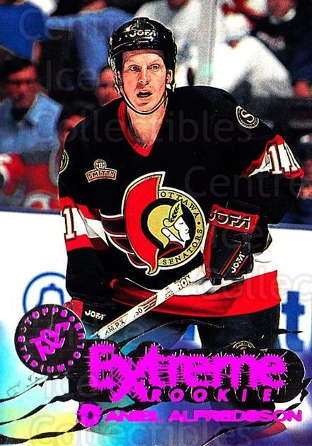 1995-96 Stadium Club #206 Daniel Alfredsson<br/>1 In Stock - $3.00 each - <a href=https://centericecollectibles.foxycart.com/cart?name=1995-96%20Stadium%20Club%20%23206%20Daniel%20Alfredss...&quantity_max=1&price=$3.00&code=372984 class=foxycart> Buy it now! </a>