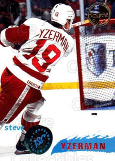 1995-96 Stadium Club Members Only #20 Steve Yzerman<br/>2 In Stock - $15.00 each - <a href=https://centericecollectibles.foxycart.com/cart?name=1995-96%20Stadium%20Club%20Members%20Only%20%2320%20Steve%20Yzerman...&quantity_max=2&price=$15.00&code=372987 class=foxycart> Buy it now! </a>