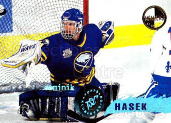 1995-96 Stadium Club Members Only #60 Dominik Hasek<br/>2 In Stock - $10.00 each - <a href=https://centericecollectibles.foxycart.com/cart?name=1995-96%20Stadium%20Club%20Members%20Only%20%2360%20Dominik%20Hasek...&quantity_max=2&price=$10.00&code=372992 class=foxycart> Buy it now! </a>