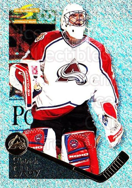 1995-96 Summit Ice #149 Patrick Roy<br/>1 In Stock - $15.00 each - <a href=https://centericecollectibles.foxycart.com/cart?name=1995-96%20Summit%20Ice%20%23149%20Patrick%20Roy...&quantity_max=1&price=$15.00&code=373258 class=foxycart> Buy it now! </a>